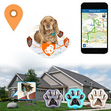 For Pets Dogs Cats Waterproof Wifi GSM GPRS Locator Real Time GPS Tracker Paw
