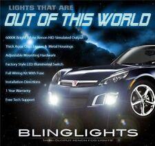 2007 2008 2009 Saturn Sky Xenon Foglamps Bumper Foglights Driving Fog Lamps Kit