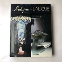 (Rene) Lalique par Lalique Signed Autographed Book HBDJ French Glass Reference