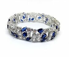 Melania Trump Jewelry Line QVC Simulated diamonds and Sapphire Bracelet
