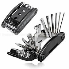 16 in 1 Multi-Function Road Bike Bycicle Cycling Mini Fold Repair Tool Kit