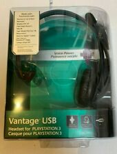 Logitech Vantage USB Headset with microphone for Playstation 3 & 2  PS3 & PS2