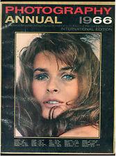 PHOTOGRAPHY ANNUAL 1966 INTERNATIONAL EDITION FOTOGRAFIA