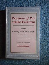 Response of Rav Moshe Feinstein : Translation and Commentary by Moses...