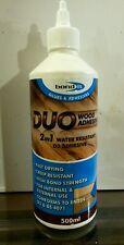 DUO 2 IN 1 WATER RESISTANT PVA WOOD ADHESIVE GLUE 500 ml