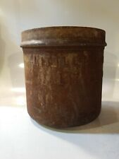 Antique Metal Milk Dairy Can Cover Container? Littleton Dairy Co N.H. Barn Farm