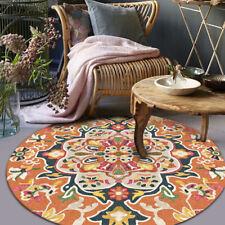 Round Carpet Non-Slip Bath Mat Soft thicken flannel Area Rug for Living Room