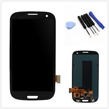 Black New LCD Touch Screen Glass Digitizer For Samsung Galaxy S3 i9300 i9305