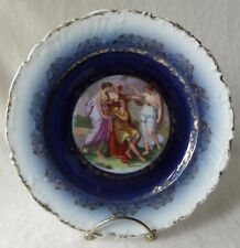 """BEAUTIFUL ANTIQUE 1920'S VICTORIA CARLSBAD AUSTRIA HAND PAINTED PLATE - 8-1/2"""""""