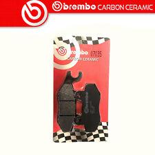 Plaquette de Frein BREMBO Carbone Ceramic Avant Pour Peugeot City Star 200 I 12>