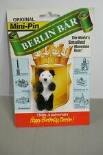 Heike Ours Mini Épinglette Berliner Panda 750 Années ca.7cm (K15)
