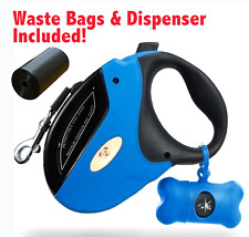 Retractable Dog Leash Walking 16ft Heavy Duty 110Lb Nylon Cord Small Large Pets