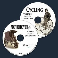 Cycling & Motorcycles - Vintage Collection 69 PDF E-Books 2 DVD Bicycle,Tricycle