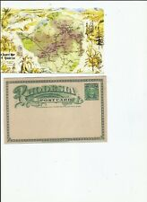 Rhodesia Tourist Map postcard