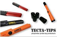 4 TECTA-TIPS para TODAS las sondas de puntero XP Minelab Garrett, etc.