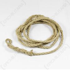 ZELTBAHN ROPE WITH LOOPS - German Army Unissued Surplus Rope 110cm Length