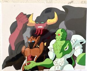 Transformer Animation Cel - Big Horn and Squirt