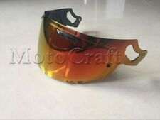 Golden red Visor Arai Helmet RX-7X CORSAIR-X RX-7V VAS-V