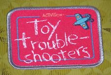 ~ Commodore 64 Video Game Vintage 80's Activision Patch -- Toy Bizzare ~