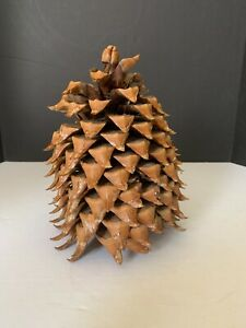 Vintage Large California Coulter Pine Cone 10 inches Tall