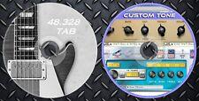 145.281 Patches Line6,POD XT,Pro,Live,X3,2.0&48.328 Tablatures Guitar Collection