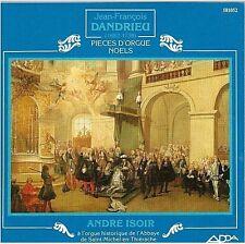 DANDRIEU pieces d'orgue noels CD andre isoir ADDA 581052