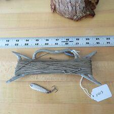 Vintage Metal hand tie fishing reel & fishing lure (lot#11413)