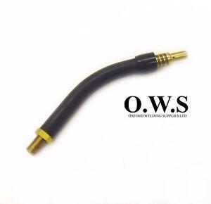 Euro Mig Welding Torch Lance Swan Neck MB14 Torch Neck M6 Tip Thread