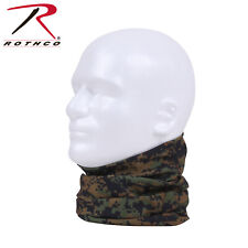 Rothco Multi-Use Tactical Wrap Woodland Digital Head Face Neck #5303