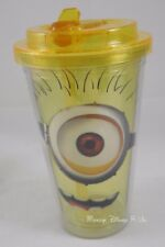 New Despicable Me 2 Minion Acrylic Travel Cold Cup Tumbler W/Flip Straw BPA Free