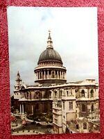 ST. PAUL'S  CATHEDRAL LONDON  COLOUR POSTCARD  [296]