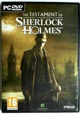 THE TESTAMENT OF SHERLOCK HOLMES (PC) (Complete with unused cd key)