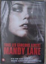 DVD :  TOUS LES GARCONS AIMENT MANDY LANE Amber Heard Horreur épouvante NEUF