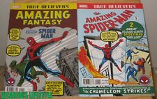True Believers Amazing Fantasy & The Amazing Spider-Man 1 (Marvel)