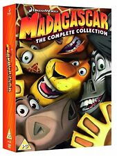 The Complete Madagascar 1 - 3 Collection: (3 DIscs) DVD Brand NEW and Sealed