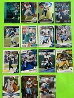 Tennessee Titans Football Card Lot Derrick Henry Corey Davis AJ  Brown Prizm