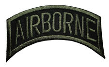 #02 Airborne Division US Military Embroidered Iron on Patch Free Postage