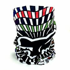 Fox Racing BMX Extreme Xtreme Sports Checkered Flag Multicolor Neck Gaiter