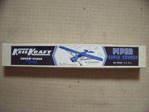 KEILKRAFT MODEL KITS. PIPER SUPER CRUISER. SUPER SCALE.