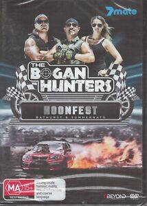 The BOGAN HUNTERS - Hoonfest - Bathurst & Summernats DVD NEW & SEALED Tracked