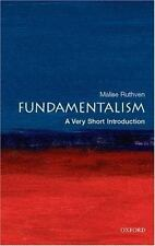 Very Short Introductions Ser.: Fundamentalism Vol. 155 by Malise Ruthven...