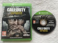 CALL OF DUTY WWII ww2 XBOX ONE FPS SHOOTER FAST POST