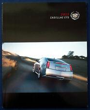 Prospekt brochure 2013 Cadillac CTS (USA)