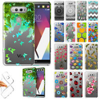 For LG V20 VS995 H990 LS997 H910 H918 US996 TPU Clear Silicone Gel Case Cover