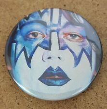 Kiss Ace Frehley  Portrait 1.5 Inch Badge
