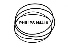 SET BELTS PHILIPS N4418 REEL TO REEL EXTRA STRONG NEW FACTORY FRESH N 4418