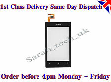 Replacement Nokia Lumia 520 Touch Screen Digitizer Glass Lens With Frame Black