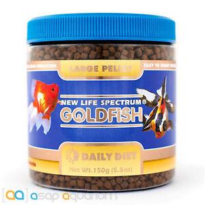 New Life Spectrum Goldfish Large Pellet 150 grams Color Enhancing Fish Food