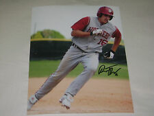 Dustin DeMuth Indiana Hoosiers Baseball Signed 8x10 Photo College World Series