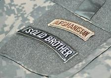 USMC FORCE RECON RANGERS DEATH SNIPER INFIDEL burdock TABS: AFGHAN SOLID BROTHER
